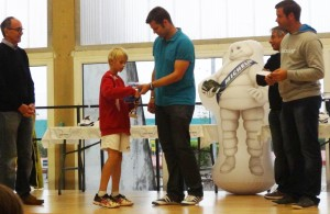Victor remporte le tournoi de sa catégorie