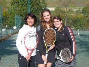 De gauche à droite : Muriel, Victoria, Marion