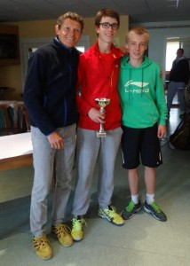 Thibault et le finaliste Cyril